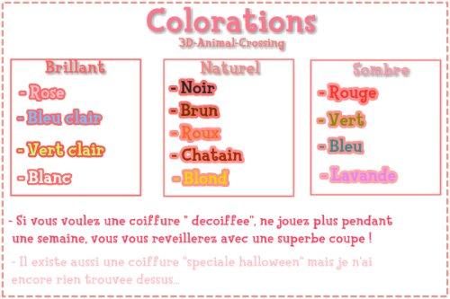 Les coiffures et colorations astuce 3 animal crossing 3ds new leaf - Coupe animal crossing new leaf ...