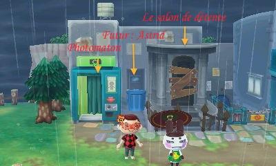 Les boutiques du centre ville d blocage boutiques - Animal crossing new leaf salon de coiffure ...