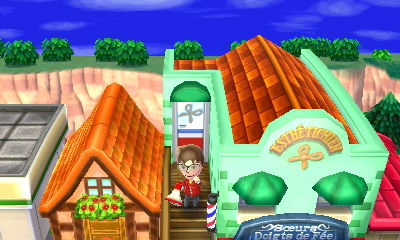 Tout sur les batiments laurie et h l ne - Animal crossing new leaf salon de detente ...