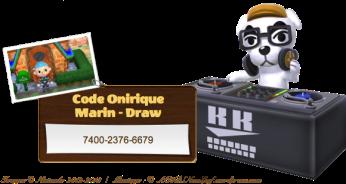 Marin Code Onirique Animal Crossing - New Leaf v2 - 8 - AC3DSNewLeaf.wordpress.com